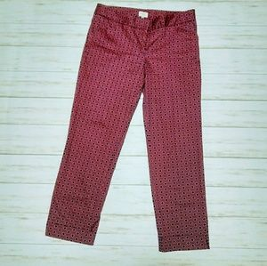 Laundry By Shelli Segal Cropped Pants Size 6.